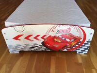 Disney Cars Lightning McQueen junior toddler bed