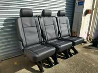 Brand new vw t6 kombi quick release 1+1+1 seats fit t5