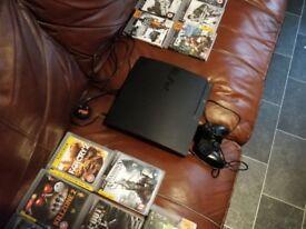 Playstation 3 slim console 320GB plus 20 Games