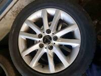BMW e46 16 inch alloy wheels x4 with tyres