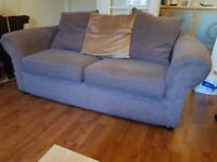 Brown 2 seater couch