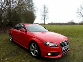 2009 AUDI A4 2.0TDI S LINE*EXCELLENT FINANCE PACKS**LOW MILES*