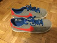 Nike suede trainers UK size 5.5 VG conditions