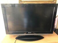 Sharp 32 inch tv NO REMOTE CONTROL