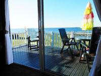 *Sensational Sea Views* Craig Tara Ayr *Beachfront* Luxury Caravan for hire.