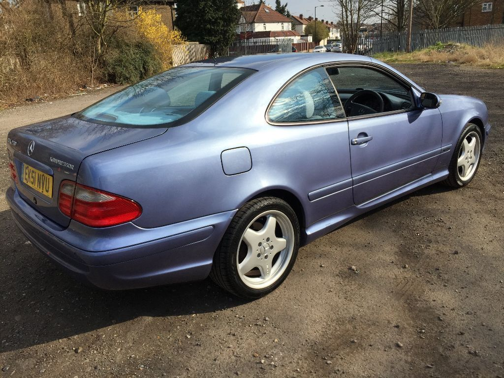 mercedes clk 230 kompressor avantgarde coupe amg in enfield london gumtree. Black Bedroom Furniture Sets. Home Design Ideas
