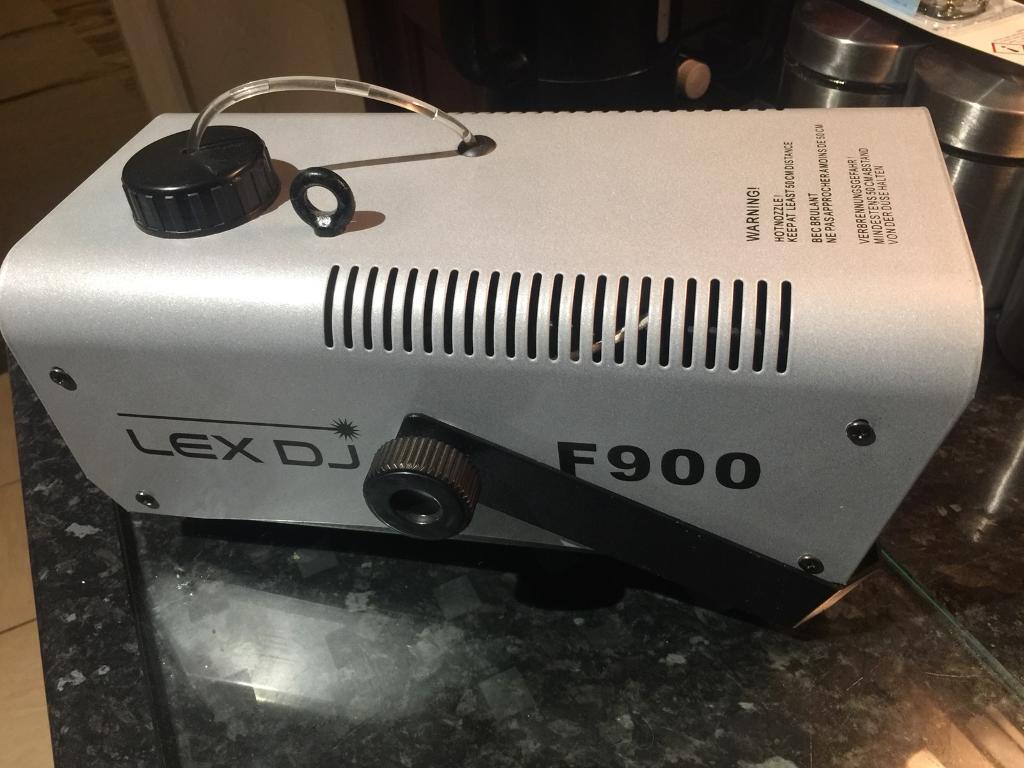 Lex Dj F900 fog machine