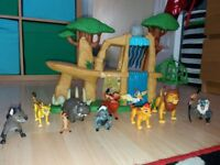 * LION GUARD DEFEND THE PRIDE LAND PLAYSET WITH FIGURES * £20 ONO