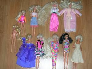 Orginial Barbie.... 80'/90's Barbie Doll Family