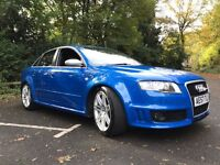 AUDI RS4 4.2 QUATTRO 57 PLATE 4DR BUCKETS FLAT BOTTOM STEERING BOSE FASH