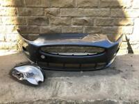 Genuine Jaguar XKR Front Bumper & Drivers Side Xenon Headlight 2005-2011