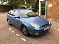 2002 Ford Focus Ghia 1.6 Petrol manual 5dr.92k Miles ServiceHistory HPIclear.Corsa Astra Golf Fiesta