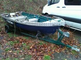 Boat dingy 14ft fishing boat