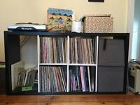 IKEA storage unit- perfect for records!
