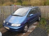 1997 VOLKSWAGEN SHARAN CARAT 1.9 TDI 110HP SPARES OR REPAIR