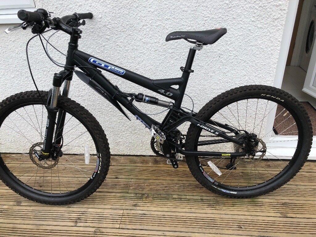 gt idrive 5 4 0 full sus mountain bike in downend bristol gumtree