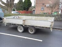 ifor williams, paul townend, trailer 12ft x 6ft 6 twin axle