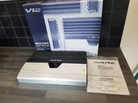 ALPINE MRV-F450 V12, 5 channel amplifier , Boxed with instructions .