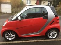 Smart For Two, 62, 1.0, 70bhp. 49000m, Full service history, Panasonic Carplay radio. Excellent Car