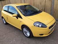 Absolutely Stunning 2009 Grande Punto 1.4 GP Special Edition 34000 Miles! Head Turning Colour FSH