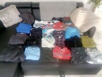 Big Clothes Bundle!!! Most are top brands (Hugo Boss, Tommy Hilfiger)!!! Delivery available!