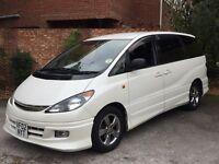 Toyota Estima Previa LPG 8 Seats 72L LPG Donut Tank Many Extras Rare 4WD Alloys Top SPEC MOT 12/16