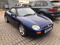 MG MGF 1.8 i VVC 2dr£1,500 p/x welcome NEW MOT! GOOD RUNNER