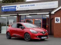 RENAULT CLIO 1.5 DCi DYNAMIQUE MEDIANAV ENERGY 5dr ** Sat Nav + Bluetooth + Cruise ** (red) 2015