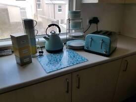 Complete duck egg kitchen set