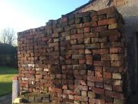 1500 Cheshire Reclaimed Bricks cleaned 50p each