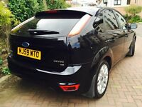 FORD FOCUS 1.6 ZETEC NEW FACELIFT SHAPE WITH PRIVACY GLASS 6 MONTHS MOT FULL SERVICE HISTORY