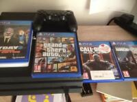 Ps4 pro 1tb with 9 games 6 months of plus