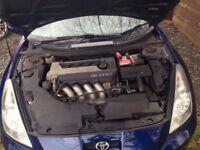 2003 TOYOTA CELICA 1.8 VVTi 140 BHP 1ZZ-FE ENGINE 55,000 MILAGE ONLY