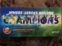 FINAL 1 PLATINUM TICKET ICC CHAMPION TROPHY