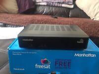 Mantattan freesat hd set top box