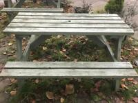 Heavy duty pub benches x 6