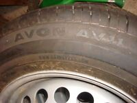 VW T5 WHEELS/TYRES UNUSED