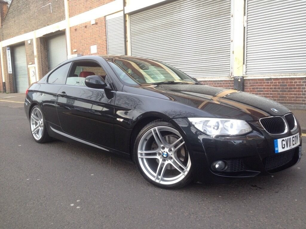 bmw 3 series 2011 2 0 320d m sport coupe 2 door diesel automatic huge spec facelift fbmwsh. Black Bedroom Furniture Sets. Home Design Ideas