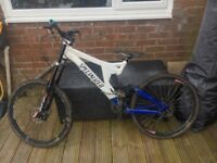 Specialized Big Hit Full Suspension Downhill Mountain Bike