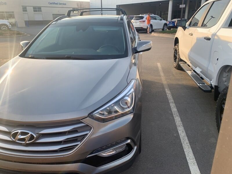Image 9 Coche Americano usado Hyundai Santa Fe 2017