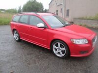 2010 VOLVO V50 R DESIGN DIESEL ESTATE ** LONG MOT, SERVICE HISTORY, **