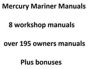 mercury 75 hp outboard service manual free