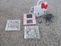 Ds with games + case