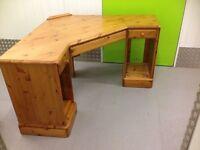 Ducal Solid Pine Corner Desk