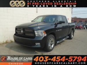 2011 Ram 1500 Sport w/ Backup Cam, Sunroof, Heated Seats, 4X4