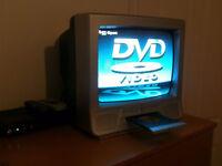 """DIGILOGIC PORTABLE 14"""" TV DVD COMBI MUST GO"""