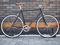 Hackney Club single speed fixed gear fixie road bike/ bicycles + 1year warranty & free service ww4