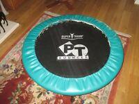 Super Tramp PT Bouncer keep fit trampoline. Has always been kept indoors.