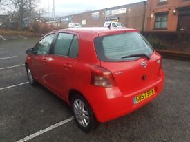 Toyota Yaris1.3 TR 5dr 1 Years Mot Low Miles Starts And Drives Perfect Cheap To Insure, Maintain