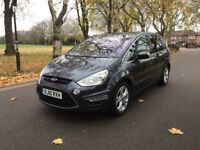 2010 Ford S-Max 2.0 TDCi Titanium 5dr | 7 Seaters| full service|like Zafira Galaxy Sharan Ford VW Q7